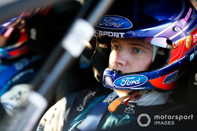 """Gus Greensmith, M-Sport Ford WRT <span class=""""copyright"""">McKlein / Motorsport Images</span>"""