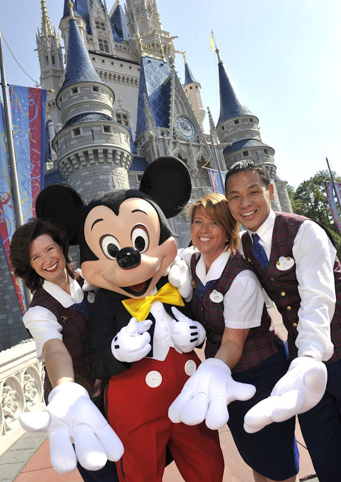 "<p>If you want to skip every line, get the best dining reservations, and get a front-row seat to the afternoon parade, Disney World's friendly and knowledgeable <a href=""https://disneyworld.disney.go.com/events-tours/private-vip-tours/"" target=""_blank"" class=""ga-track"" data-ga-category=""Related"" data-ga-label=""https://disneyworld.disney.go.com/events-tours/private-vip-tours/"" data-ga-action=""In-Line Links"">VIP tour guides</a> will do everything in their power to make your dreams come true. Prices start at $425 per hour for up to 10 guests (does not include park admission), with a minimum duration of seven hours.</p>"