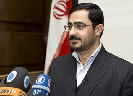 Tehran Prosecutor General Saeed Mortazavi attends a news conference in Tehran