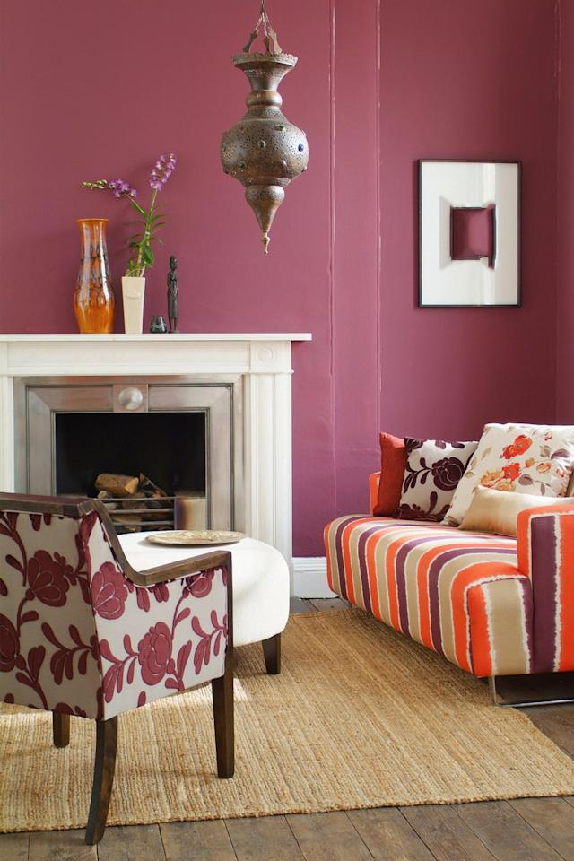 "<p>""A fresh coat of paint can breathe new life into a space, tidy up faded walls, and works to set the stage for the look and feel of the room,"" Hairsto says. A bold color can also help architectural details, like molding and unique windows, stand out to buyers.</p>"