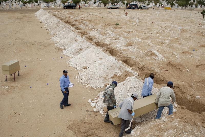 Mexico crime mass grave