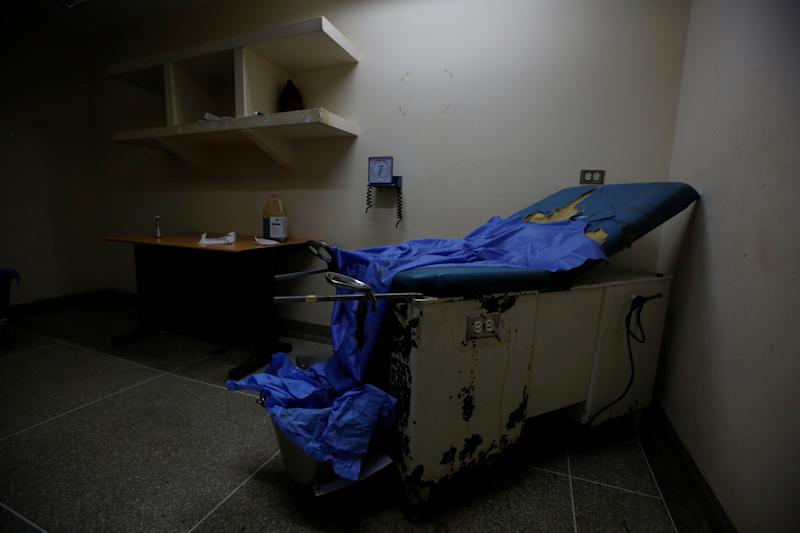 A maternity room at Felipe Guevara Rojas Hospital in El Tigre, Venezuela, on June 3. (Photo: Ivan Alvarado/Reuters)