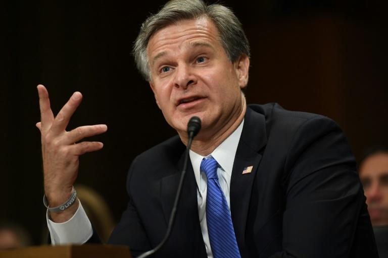 FBI Director Christopher Wray tells the Senate Judiciary Committee that Russia is still trying to interfere in US elections