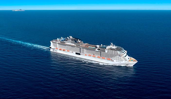 """""""We worked hard to ensure that we are still able to provide our guests with the cruise vacation and experience that they have come to know and love, including when it comes to the popular cruisebuffet,"""" MSC chief operating officer Ken Muskrat said."""