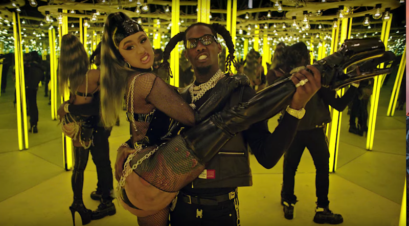 "Offset and Cardi B have all the ""Clout"" in new music video: Watch"