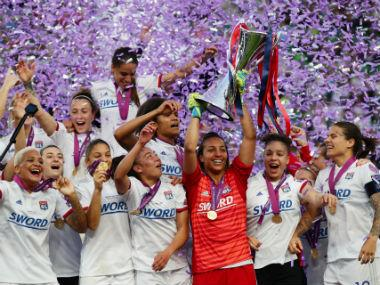 Women's Champions League: Ada Hegerberg's hat-trick helps Lyon hammer Barcelona 4-1, win fourth consecutive title