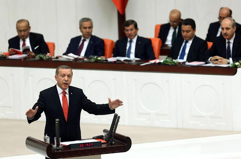 The Turkish parliament last week week authorised the government to take military action against IS extremists, but so far no plans to carry out military operations have been announced