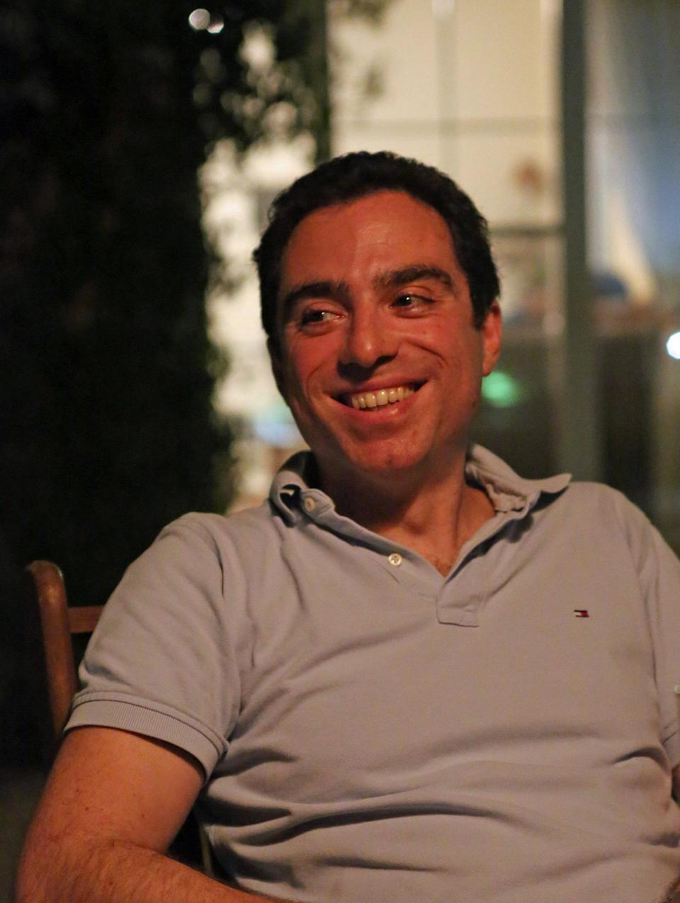 Siamak Namazi is shown in this handout photo May 18, 2012. Picture taken May 18, 2012. Handout via REUTERS ATTENTION EDITORS - THIS PICTURE WAS PROVIDED BY A THIRD PARTY. FOR EDITORIAL USE ONLY. NO RESALES. NO ARCHIVE.