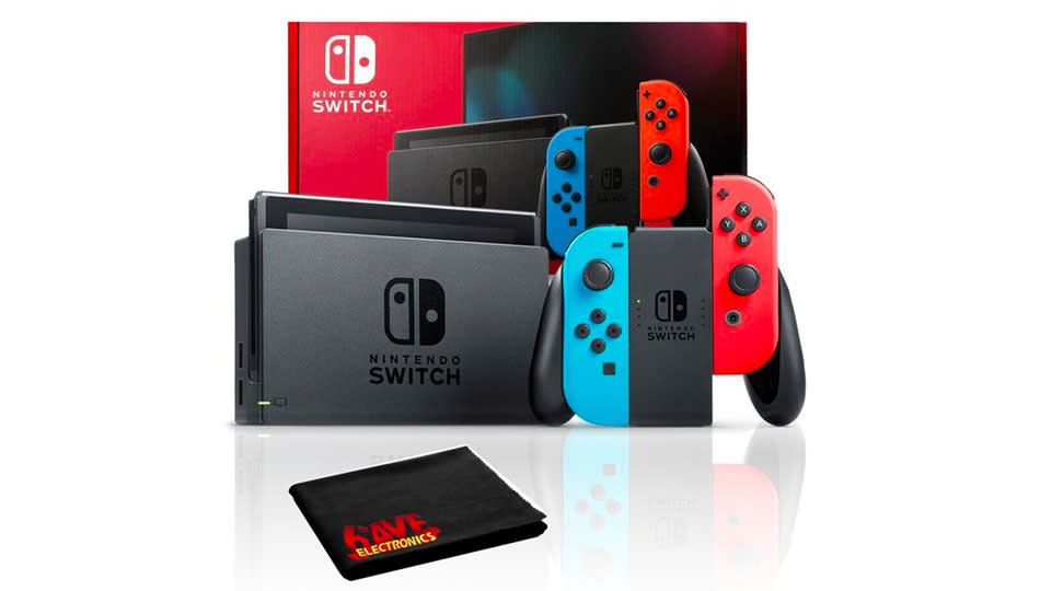 Save more than $100 on the Nintendo Switch. (Photo: Walmart)