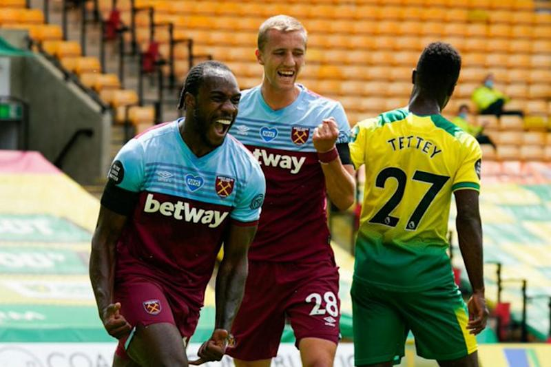 Michail Antonio Scores Four as Norwich Get Relegated for a Record Fifth Time