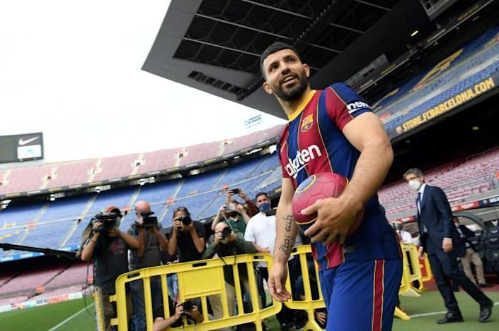 Aguero hoping for Messi partnership after signing for Barca