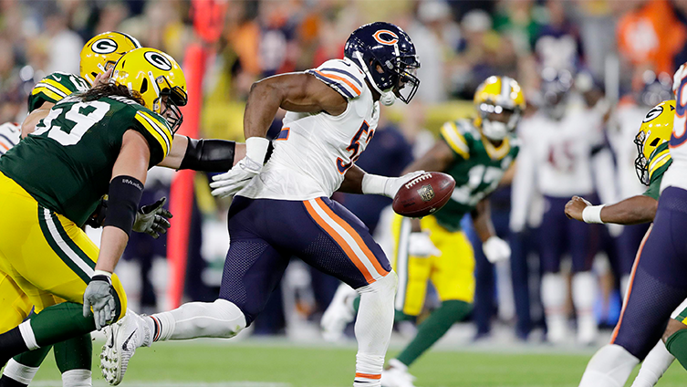 Rodgers, Packers come from behind to down the Bears
