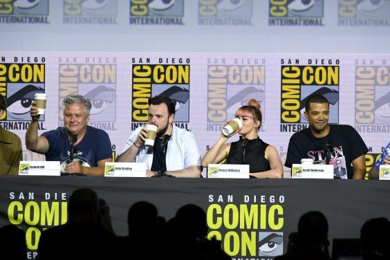 Conleth Hill, John Bradley, Maisie Williams and Jacob Anderson (Getty Images)