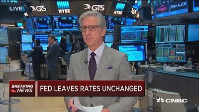 CNBC's Bob Pisani reports on the market reaction to the Fed decision.