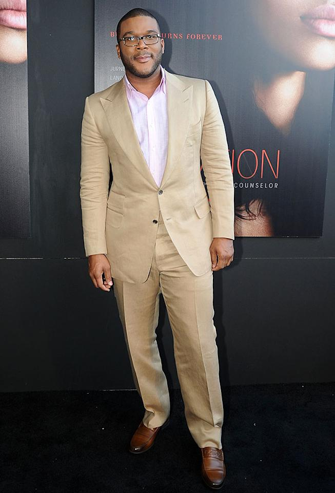 "Tyler Perry attends the ""Tyler Perry's Temptation: Confessions Of A Marriage Counselor"" Atlanta Screening at AMC Parkway Pointe on March 16, 2013 in Atlanta, Georgia."