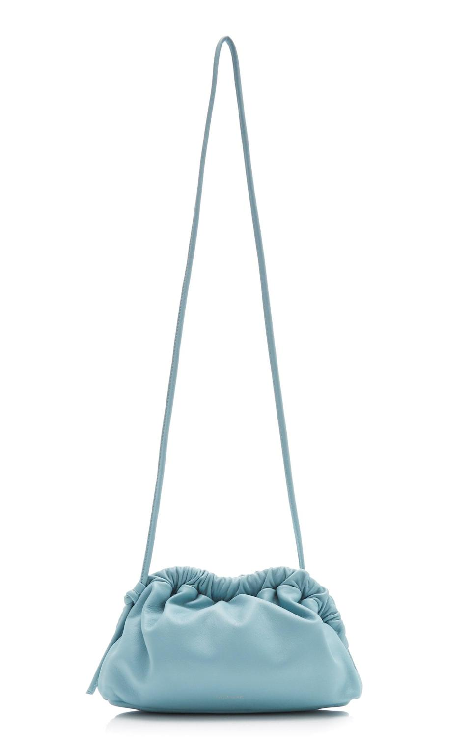 <p>This <span>Mansur Gavriel Cloud Mini Leather Crossbody Bag</span> ($495) is gorgeous and useful, but still whimsical.</p>