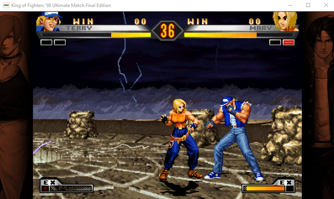 Você pode jogar King of Fighters '98 Ultimate Match Final Edition, através do Prime Gaming - (Captura: Canaltech/Felipe Freitas)