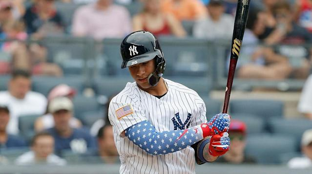 Yankees Place Gleyber Torres on the 10-Day Disabled List