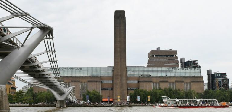 The contemporary art museum on the banks of the River Thames was evacuated but was due to reopen on Monday (AFP Photo/Daniel SORABJI)