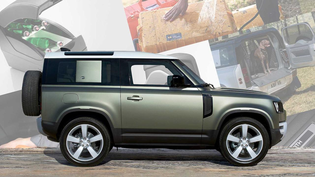 """<p>The new <a href=""""https://uk.motor1.com/land-rover/defender/?utm_campaign=yahoo-feed"""">Land Rover Defender</a> is a modern truck wrapped in classic packaging. Positioned to take on the <a href=""""https://www.motor1.com/jeep/wrangler/"""">Jeep Wrangler</a>, and<a href=""""https://www.motor1.com/mercedes-benz/g-class/"""">Mercedes-Benz G-Class</a>,among a few others, the Defender comes to market with off-road chops and two impressive powertrains. The base 2.0-litre four-cylinder diesel produces 197 bhp while the optional 3.0-litre straight-six petrol churns out 394 bhp.</p> <p>But engines and off-road capability aside, it's the hidden quirks and features that separate the new Defender from its classmates. We've compiled 10 of the weirdest, most-wonderful options we could find on the <a href=""""https://buildyour.landrover.co.uk/lr2/r/model/_/en_gb/l663/?_ga=2.184963502.647492437.1568121212-660376626.1568121212"""" target=""""_blank"""">Land Rover Defender UK configurator</a>. Some are obvious, like steel wheels and a rugged adventure pack, while others like dog bowls, an armrest cooler, and an inflatable awning aren't things you'll find on other vehicles available in 2019.</p> <h2>The lovely Land Rover Defender:</h2><ul><li><a href=""""https://uk.motor1.com/news/369830/2020-land-rover-defender-debut-new-frankfurt/?utm_campaign=yahoo-feed"""">2020 Land Rover Defender debuts with new tech, old charm</a></li><br><li><a href=""""https://uk.motor1.com/news/369957/land-rover-defender-pricing/?utm_campaign=yahoo-feed"""">New Land Rover Defender pricing announced</a></li><br></ul><br>"""