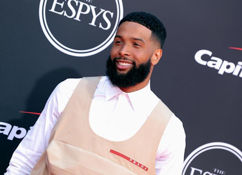 Odell Beckham Jr.'s 'Girl Scout Uniform' Outfit at ESPY Awards Inspires the Funniest Memes