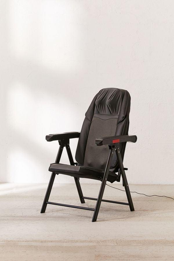 """<p>This <a href=""""https://www.popsugar.com/buy/Folding-Massage-Chair-405295?p_name=Folding%20Massage%20Chair&retailer=urbanoutfitters.com&pid=405295&price=269&evar1=moms%3Aus&evar9=26174138&evar98=https%3A%2F%2Fwww.popsugar.com%2Ffamily%2Fphoto-gallery%2F26174138%2Fimage%2F46754316%2FFolding-Massage-Chair&list1=holiday%2Cgift%20guide%2Cparenting%20gift%20guide%2Cgrandparents%2Choliday%20living&prop13=api&pdata=1"""" rel=""""nofollow"""" data-shoppable-link=""""1"""" target=""""_blank"""" class=""""ga-track"""" data-ga-category=""""Related"""" data-ga-label=""""https://www.urbanoutfitters.com/shop/folding-massage-chair?category=cell-phone-accessories&amp;color=001&amp;type=DEFAULT"""" data-ga-action=""""In-Line Links"""">Folding Massage Chair</a> ($269) is great to tuck away when it's not in use. Plus, you can enjoy it when you visit them.</p>"""