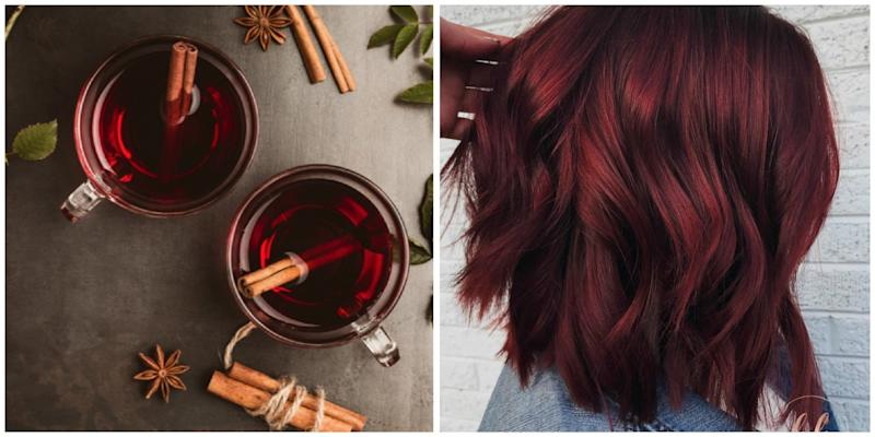 """""""Mulled Wine Hair"""" Is the Coolest New Hair-Color Trend for Winter"""