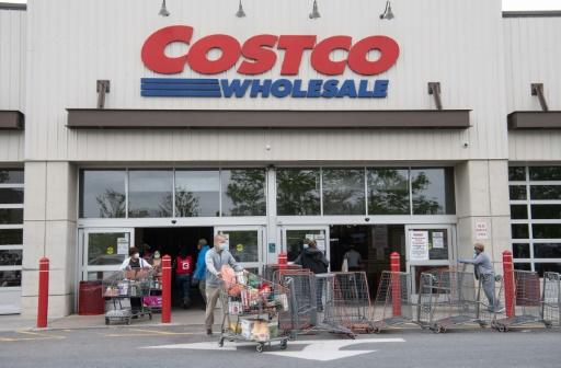 Un hipermercado Costco en Washington el 5 de mayo de 2020