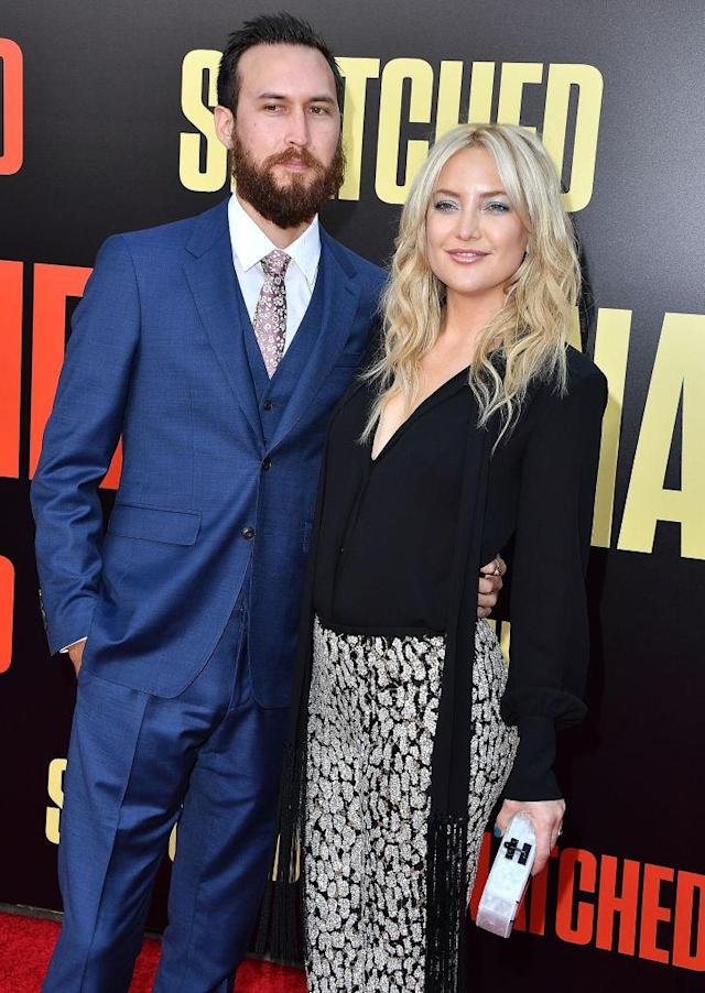 Kate Hudson and Danny Fujikawa at the <em>Snatched</em> premiere in May 2017 in L.A. (Photo: Steve Granitz/WireImage)