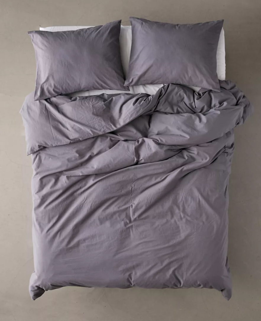 """<br><br><strong>Urban Outfitters</strong> Amelia Cotton Duvet Cover, $, available at <a href=""""https://go.skimresources.com/?id=30283X879131&url=https%3A%2F%2Fwww.urbanoutfitters.com%2Fshop%2Famelia-cotton-duvet-cover"""" rel=""""nofollow noopener"""" target=""""_blank"""" data-ylk=""""slk:Urban Outfitters"""" class=""""link rapid-noclick-resp"""">Urban Outfitters</a>"""