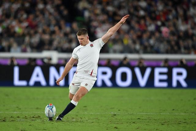England captain Owen Farrell was one of six Saracens players to start the World Cup final (Ashley Western/PA)