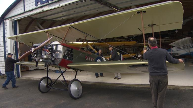B.C.-built replica WW1 planes land in France for Vimy Ridge centennial