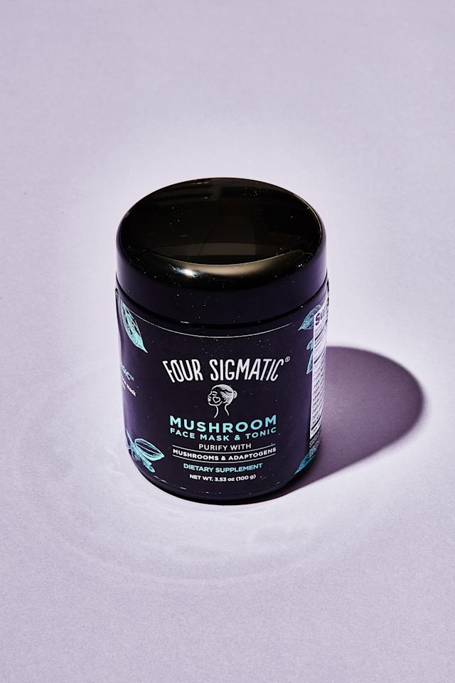 """<p><strong>The mask</strong>: Four Sigmatic has been dominating the functional mushroom game for years, so I was curious to try their foray into skincare. By far, this was the messiest mask to mix. Removal was even worse. <em>This is it</em>, I thought, scrubbing my face in the shower. <em>My secret worst fear of accidentally staining my face with a beauty product actually happened</em>. But after a lot of scrubbing, I emerged with softer skin and rattled nerves.</p> <p><strong>Taste:</strong> I usually stick to iced drinks in August as a form of self-preservation, but Four Sigmatic's packaging suggests hot water, and I want to be a good sport. As soon as I begin to mix together the intimidatingly inky liquid, I'm hit with the smell of gingerbread. It's a blend of cacao, cinnamon, and reishi, which effectively masks any earthiness from the mushrooms and warms my throat. Reishi and chaga are thought to promote alertness, and I do feel a nice boost of energy despite skipping my morning coffee.</p> <p><strong>I'm keeping it:</strong> In the pantry, next to the mugs and far away from my skin.</p> <p><em>Buy it: <a href=""""https://www.amazon.com/Four-Sigmatic-Mushroom-Face-Tonic/dp/B07RMQPHKT"""" rel=""""nofollow"""">Four Sigmatic Mushroom Face Mask & Tonic, $33</a>.</em></p>"""