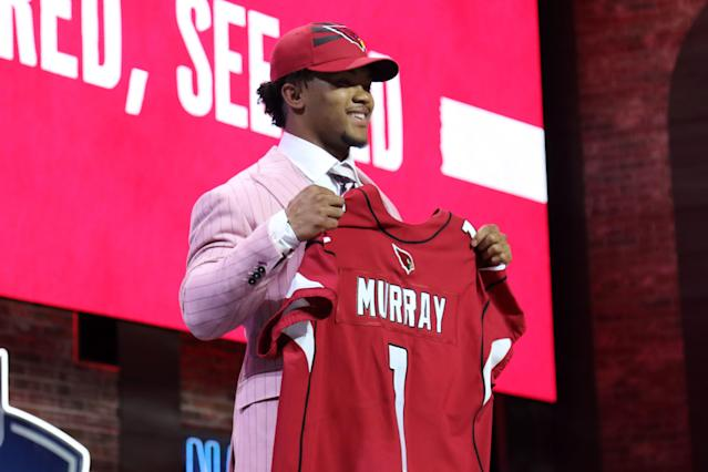 The Cardinals added another first-round quarterback to their roster after drafting Kyler Murray. (Getty Images)