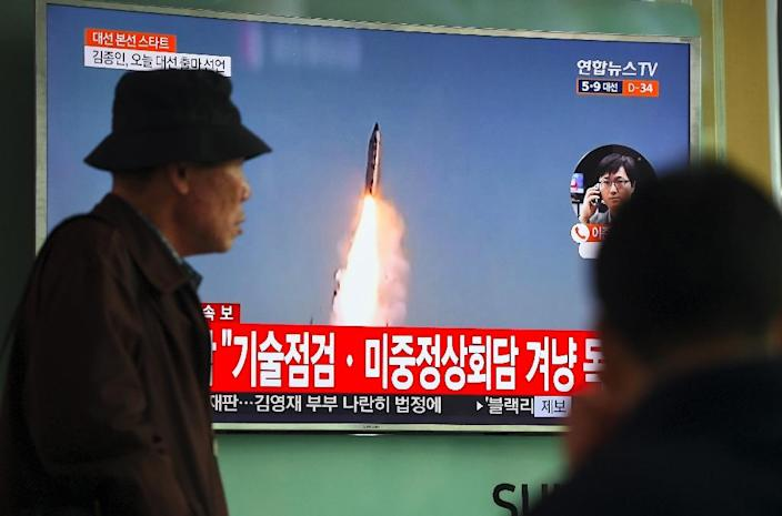 South Koreans have become used to news that their northern neighbour has tested a weapon (AFP Photo/JUNG Yeon-Je)