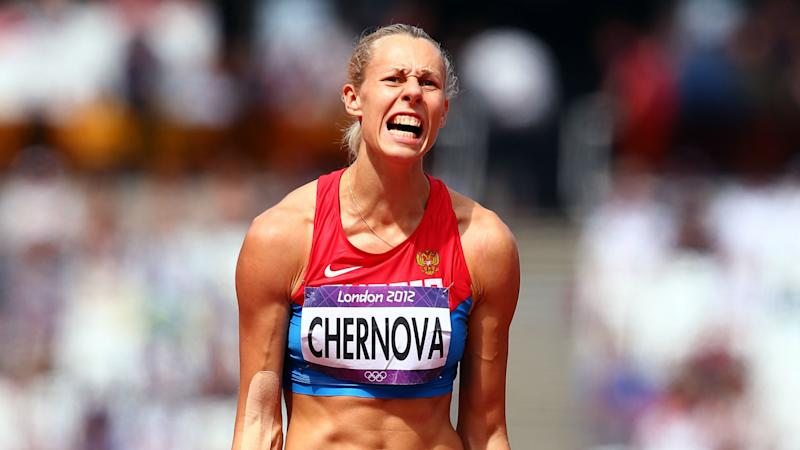 Banned heptathlete Chernova fails with CAS appeal