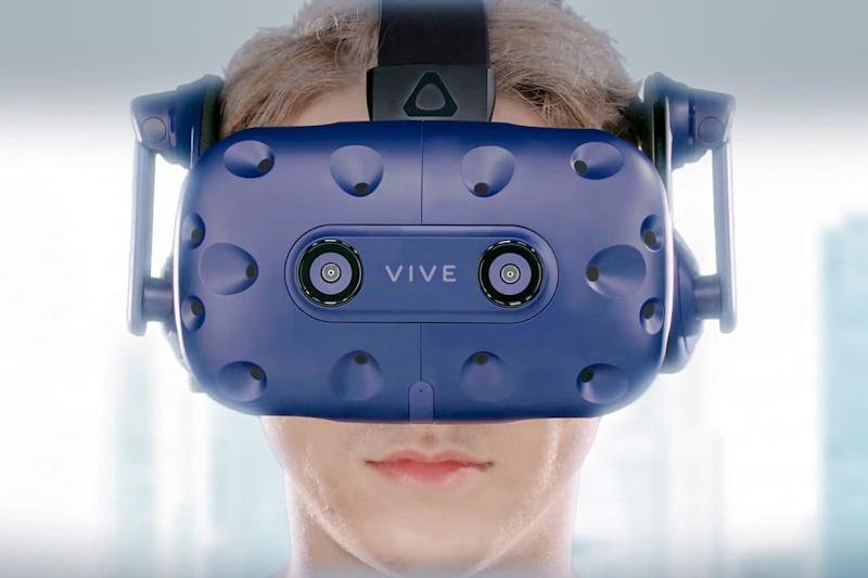 htc vive pro press