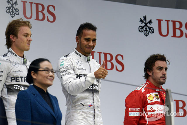 "98- Fernando Alonso, 3º en el GP de China 2014 con Ferrari <span class=""copyright"">XPB Images</span>"