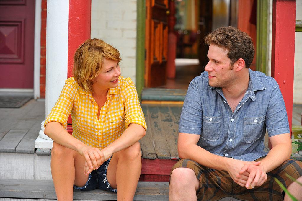 """<a href=""http://movies.yahoo.com/movie/take-this-waltz/"">Take This Waltz</a>"" (June 29): Seth Rogen and Michelle Williams play Lou and Margot, a young Canadian couple whose marriage unravels when the wife's eye starts to wander to the hipster across the street (Luke Kirby). Sarah Polley (""Away From Her"") directs with grace and wit, and comedian Sarah Silverman delivers a scathing supporting performance as Lou's alcoholic sister Geraldine."