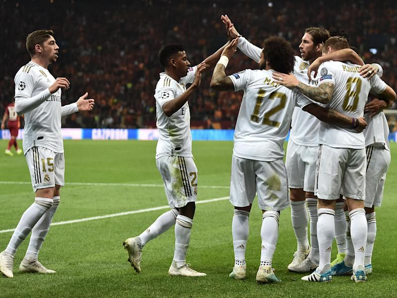 Toni Kroos scored the only goal of the game as Real Madrid secured a crucial Champions League win: AFP via Getty