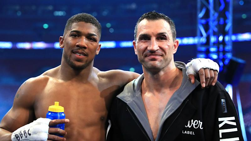 I'm a fan - Klitschko tipping Joshua for long stay at the top