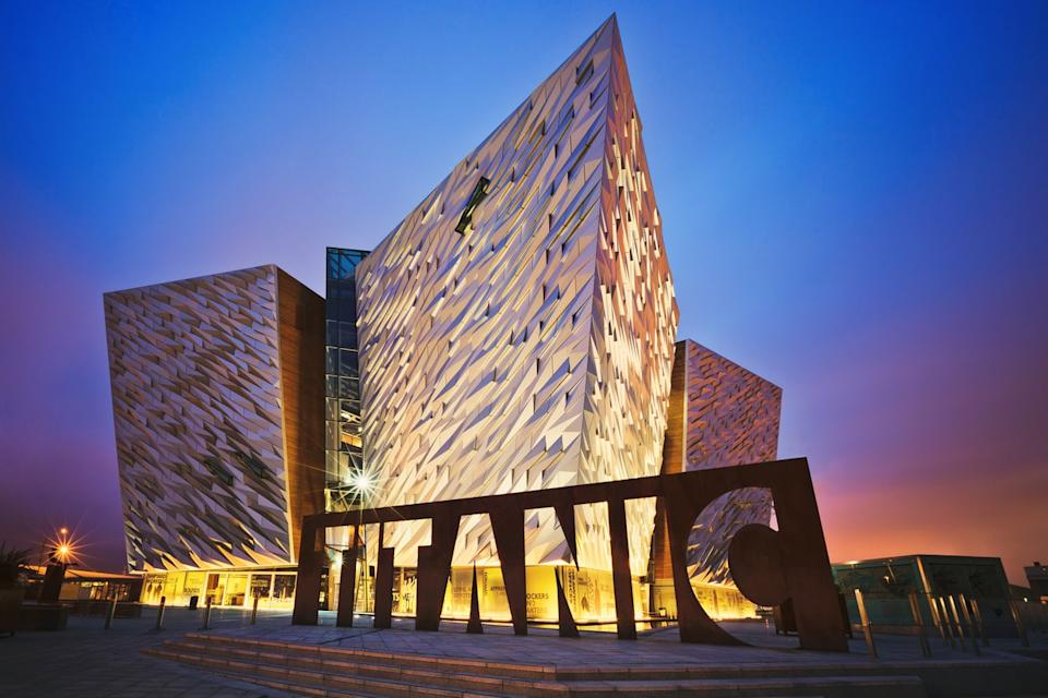It's a quick hop to BelfastGetty Images