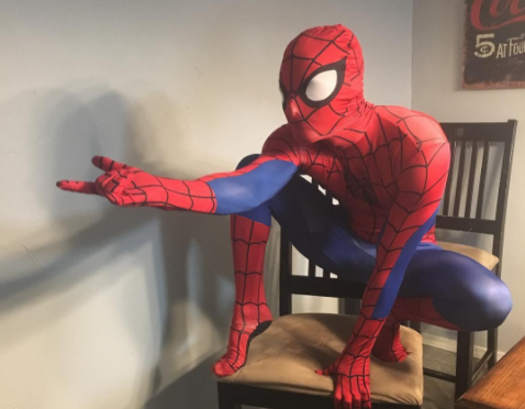 Sexy spiderman