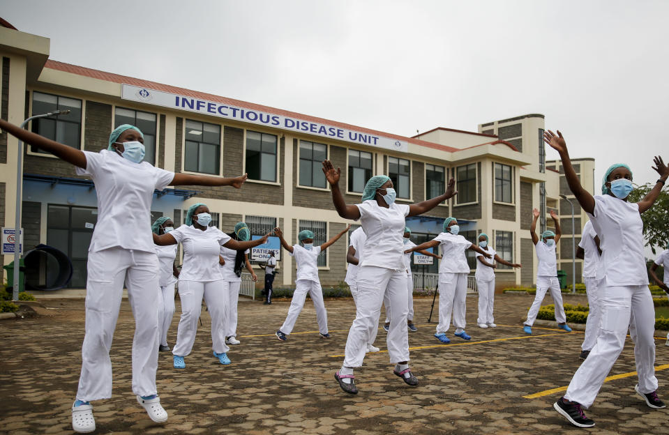 As US struggles, Africa's COVID-19 response is praised