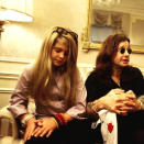 """<p>Hair chameleon Kelly Osbourne, sporting long blonde tresses and an armful of trendy power bead bracelets, while hanging out with her rocker dad Ozzy: """"Ever wanted to know what my natural hair color is? Well check out my #TBT age 12 w/ my dad!"""" -<a href=""""https://www.instagram.com/p/9pZEmRnGmT/"""" rel=""""nofollow noopener"""" target=""""_blank"""" data-ylk=""""slk:@kellyosbourne"""" class=""""link rapid-noclick-resp"""">@kellyosbourne</a> (Instagram)</p>"""