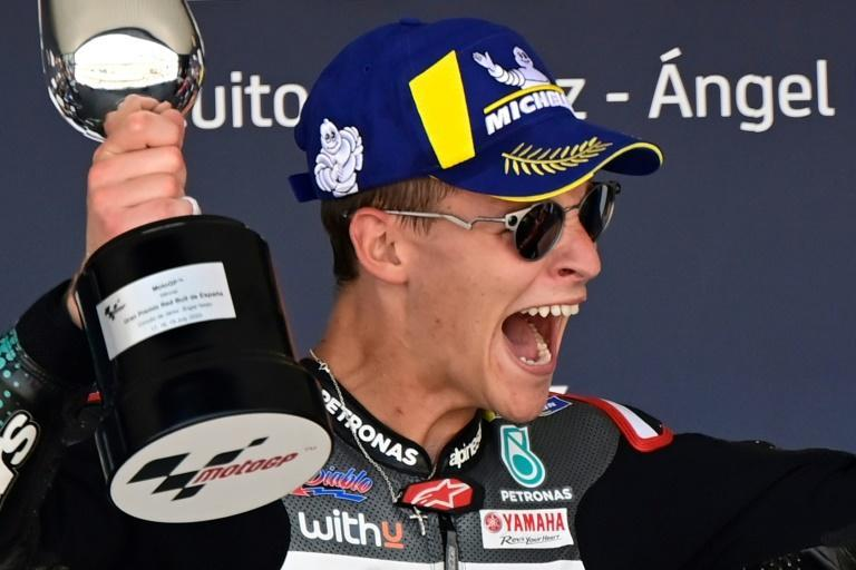 Fabio Quartararo became the first French rider to win a MotoGP race for 21 years