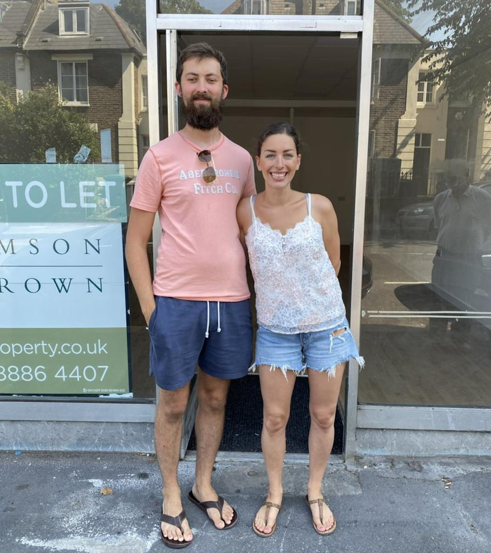 Sophia and Jesse hope to open their bakery in Crouch End by December