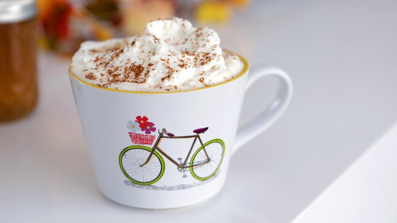 "<a href=""https://www.popsugar.com/food/Starbucks-Pumpkin-Spice-Latte-Recipe-38272478?utm_medium=partner&utm_source=yahoo&utm_campaign=feed&utm_content=link_0""><img width=""2048"" height=""2048"" src=""https://media1.popsugar-assets.com/files/thumbor/XkWouYK5-hrU7qpiSv20GUYH0Ik/fit-in/2048xorig/filters:format_auto-!!-:strip_icc-!!-/2015/08/31/220/n/1922195/58e0d710_edit_img_image_14728587_1441076625_vPumpkin_Spice_Latte_SQUARE.jpg"" /></a><p>Starbucks released its <a href=""https://www.popsugar.com/food/New-Starbucks-Pumpkin-Spice-Latte-Review-38190474?utm_medium=partner&utm_source=yahoo&utm_campaign=feed&utm_content=link_1"" >new Pumpkin Spice Latte</a>, now made with real pumpkin. But if you don't want to shell out several bucks every day to get your Fall fix, we hacked the recipe to figure out how to make our own version. Pumpkin spice and vanilla syrups combine with steamed milk and coffee to create a PSL that rivals Starbucks's. </p> <p></p> <div class=""related-stories"">Related<br/><a href=""https://www.popsugar.com/food/Starbucks-Pumpkin-Spice-Latte-Taste-Test-2016-42307522?utm_medium=partner&utm_source=yahoo&utm_campaign=feed&utm_content=link_2"">Why Starbucks's Pumpkin Spice Latte Is Better Than Ever This Year</a><br/><a href=""https://www.popsugar.com/food/Best-Pumpkin-Spice-Latte-42282987?utm_medium=partner&utm_source=yahoo&utm_campaign=feed&utm_content=link_3"">Everywhere You Can (and Should) Get a Pumpkin Spice Latte This Fall</a></div> <article class=""post-page recipe"" itemscope itemtype=""http://schema.org/Recipe""><div class=""recipe-card"" data-nid=""38272472""><header class=""recipe-header""><div id=""js-recipe-edit"" class=""recipe-edit hidden""><a href=""https://www.popsugar.com/celebrity/node/38272472/edit?utm_medium=partner&utm_source=yahoo&utm_campaign=feed&utm_content=link_4"" rel=""nofollow""><i aria-hidden=""true"" class=""icon-pencil""></i></a></div>    <h2 class=""recipe-title""><span itemprop=""name"">Starbucks Pumpkin Spice Latte</span></h2>    <p class=""recipe-source""><span itemprop=""author"">Inspired by <a href=""http://www.starbucks.com/"">Starbucks</a></span></p></header><meta itemprop=""description"" content=""""><section class=""recipe-section recipe-section-notes"">    <h3 class=""recipe-section-title"">Ingredients</h3><ol><li itemprop=""recipeIngredient"">1 cup milk</li><li itemprop=""recipeIngredient""> 1 tablespoon <a href=""https://www.popsugar.com/food/Homemade-Pumpkin-Spice-Syrup-35978814?utm_medium=partner&utm_source=yahoo&utm_campaign=feed&utm_content=link_6"" >pumpkin spice syrup</a></li><li itemprop=""recipeIngredient""> 1 teaspoon <a href=""https://www.popsugar.com/food/Cream-Soda-Recipe-24460281?utm_medium=partner&utm_source=yahoo&utm_campaign=feed&utm_content=link_7"" >vanilla simple syrup</a></li><li itemprop=""recipeIngredient""> 2 shots espresso or 1 cup coffee</li><li itemprop=""recipeIngredient""> Whipped cream, to garnish</li><li itemprop=""recipeIngredient""> Pumpkin spice (equal parts cinnamon, ginger, nutmeg, and ground clove), to garnish</li></ol> </section><section class=""recipe-section recipe-section-directions clearfix"">    <h3 class=""recipe-section-title"">Directions</h3><div class=""recipe-instructions"" itemprop=""recipeInstructions""><ol> <li>Into a mason jar or microwave safe jar with a lid, add milk, pumpkin spice syrup, and vanilla syrup. Seal the jar and shake until the milk is frothy and has doubled in volume. Remove the lid and microwave for 1 to 2 minutes or until the milk is steamed.</li> <li>Pour the hot milk into either espresso or coffee and top with whipped cream and a pinch of pumpkin spice seasoning.</li> </ol> </div></section> <!-- .recipe-section-directions --><section class=""recipe-section recipe-section-information clearfix"">    <h3 class=""recipe-section-title"">Information</h3>    <dl class=""recipe-section-array"">    <dt class=""recipe-section-array-key"">Category</dt>        <dd class=""recipe-section-array-value""><span itemprop=""recipeCategory"">Drinks, Coffee</span></dd>    <dt class=""recipe-section-array-key"">Yield</dt>        <dd class=""recipe-section-array-value""><span itemprop=""recipeYield"">1 Serving</span></dd>    <dt class=""recipe-section-array-key"">Cook Time</dt>        <dd class=""recipe-section-array-value""><span itemprop=""cookTime"" content=""PT10M"">10 Minutes</span></dd>    </dl></section><footer class=""recipe-footer"">    <div itemprop=""aggregateRating"" itemscope itemtype=""http://schema.org/AggregateRating"">         <meta itemprop=""ratingValue"" content=""3"" />         <meta itemprop=""ratingCount"" content=""117"" />     </div>  <div class=""stars-voting""      data-content_type='node'      data-content_id='38272472'      data-node_type='recipe'      data-star_on_fill='#EB0B66'      data-star_off_fill='#cccccc'      data-txt_color='#666666'      data-txt_vote1='Disappointing'      data-txt_vote2='Fair'      data-txt_vote3='Good'      data-txt_vote4='Great'      data-txt_vote5='To Die For'      data-txt_before_vote='Rate Recipe:'      data-txt_after_vote='My Rating:'      data-bgcolor='#F4F3F1' >    <div class=""voting-user"">       <div class=""voting-head""></div>       <div class=""voting-body""></div>   </div>   <div class=""voting-counter"">       <div class=""voting-head"">Average (<span class=""vote-count""></span> votes): </div>       <div class=""voting-body""></div>   </div>  </div><a href=""https://www.popsugar.com/celebrity/Starbucks-Pumpkin-Spice-Latte-38272472?utm_medium=partner&utm_source=yahoo&utm_campaign=feed&utm_content=link_8""print' target='_blank' title='Print recipe'><div class='print-recipe'>Print recipe</div></a></footer></div></article>"