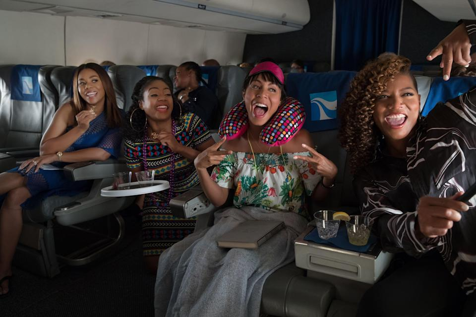 "<p><strong><em>Girls Trip</em></strong>(2017)</p><p>Back in their heyday, the four members of the Flossy Posse were each other's worlds. Now that they're older, though, Sasha (Queen Latifah), Lisa (Jada Pinkett Smith), Dina (Tiffany Haddish), and Ryan (Regina Pierce) have drifted apart. Ryan is asked to speak at the Essence Festival, and invites her old friends to come along for the weekend. A lot has changed — though the friends are happy to be with each other again, tensions are right around the corner. Can they work through them?</p><p><strong>Why You Should Watch It:</strong> Because it's hilarious! Because it gets the complexities of friendship! And because of Tiffany Haddish!</p><span class=""copyright"">Michele K. Short/Universal/Kobal/REX/Shutterstock</span>"
