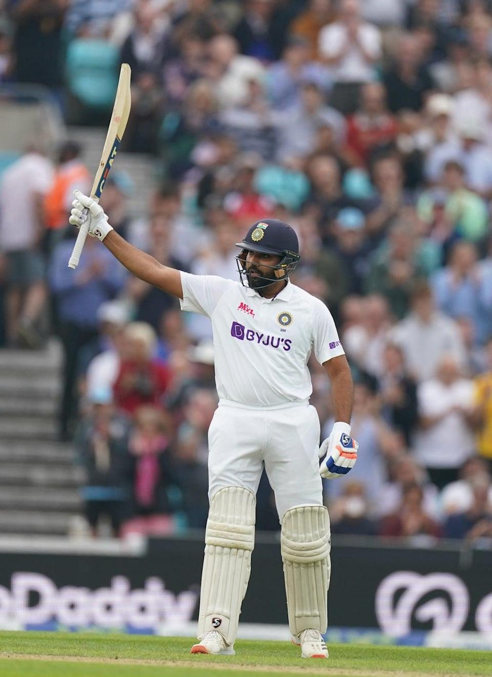 Rohit Sharma got a century for India (Adam Davy/PA) (PA Wire)